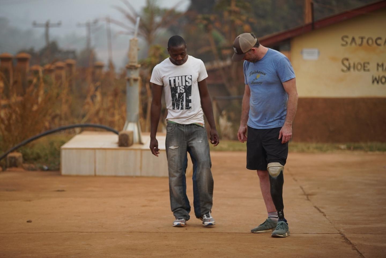 Ben Walking Without Crutches Obakki Foundation Story